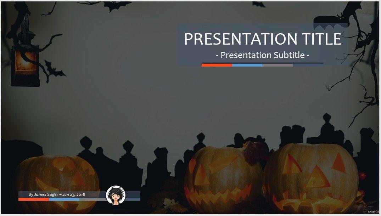 free halloween ppt #84339 | 14102 free powerpoint templates, Modern powerpoint