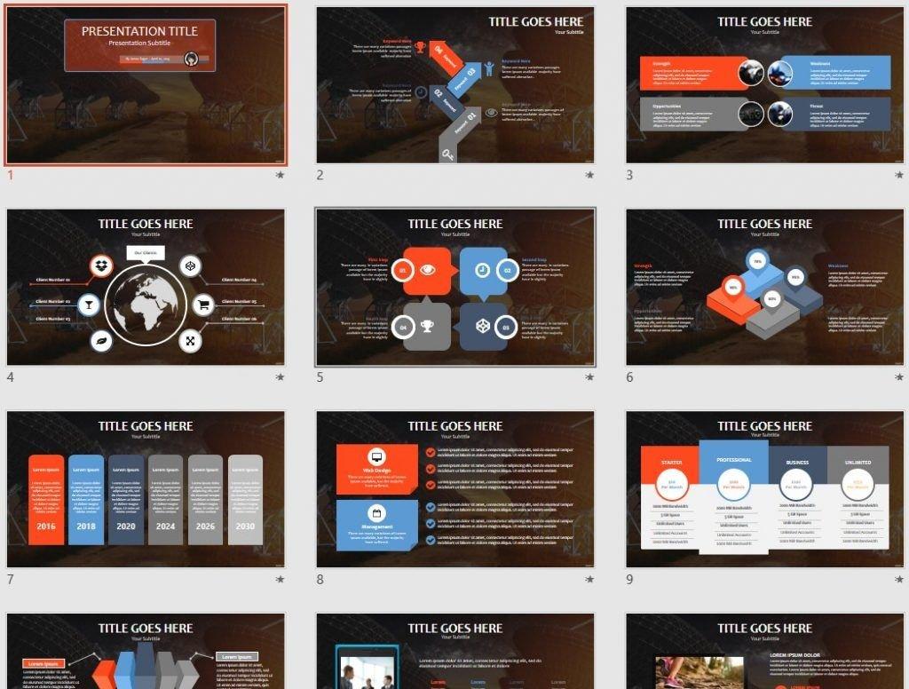 Radio Telescopes PowerPoint by SageFox