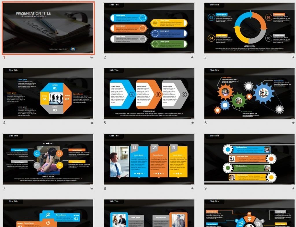Agenda PowerPoint by SageFox