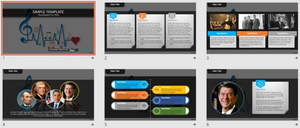 Simple Kids PowerPoint - Music by SageFox