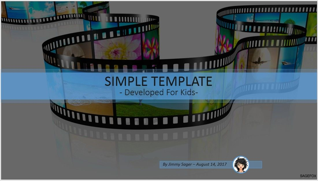 Free simple kids powerpoint film strip 87861 14078 free by james sager pronofoot35fo Image collections