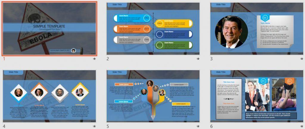 Simple Kids PowerPoint - Ebola by SageFox