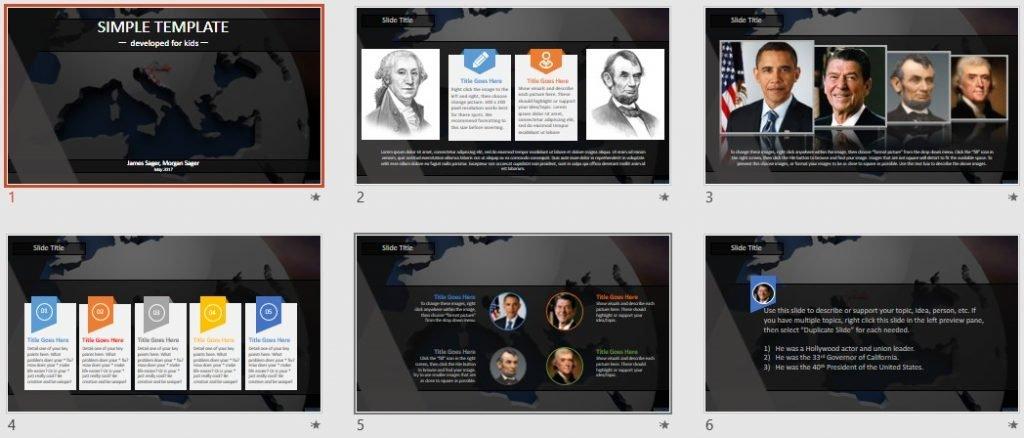 Simple Kids PowerPoint - croatia by SageFox
