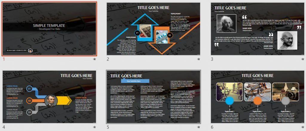 Simple Kids PowerPoint - trigonometry by SageFox