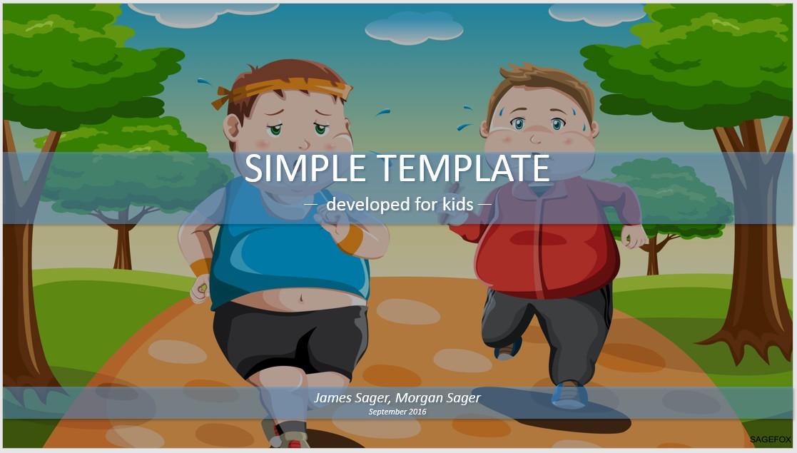 Free exercise cartoon simple kids powerpoint 84981 13877 free by james sager toneelgroepblik Choice Image