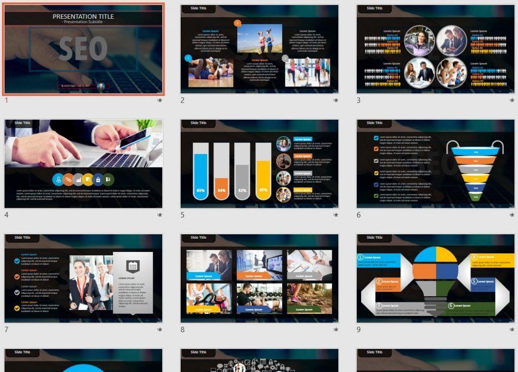 SEO PowerPoint by SageFox