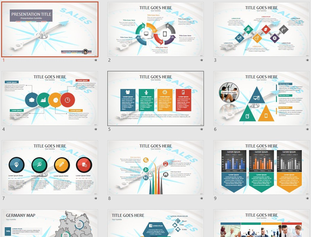free sales powerpoint 85136 sagefox free powerpoint templates