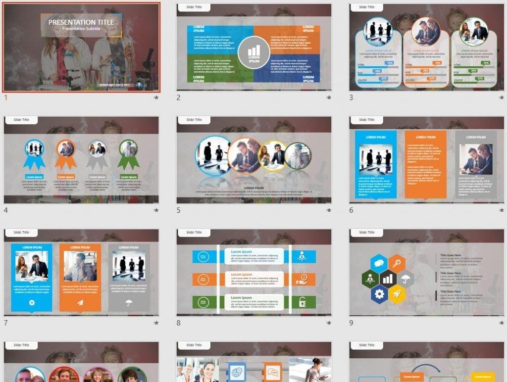 Science Kids PowerPoint by SageFox