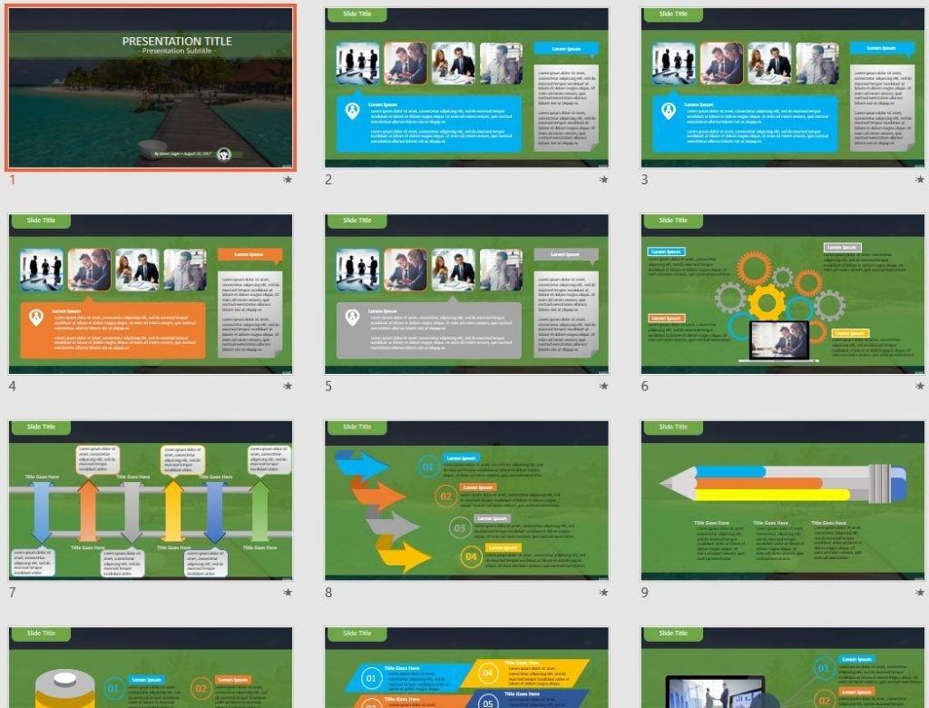Maldives PowerPoint by SageFox