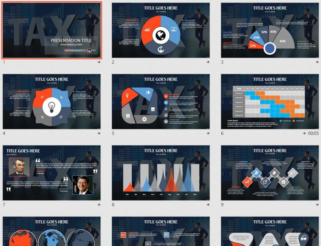 tax PowerPoint by SageFox