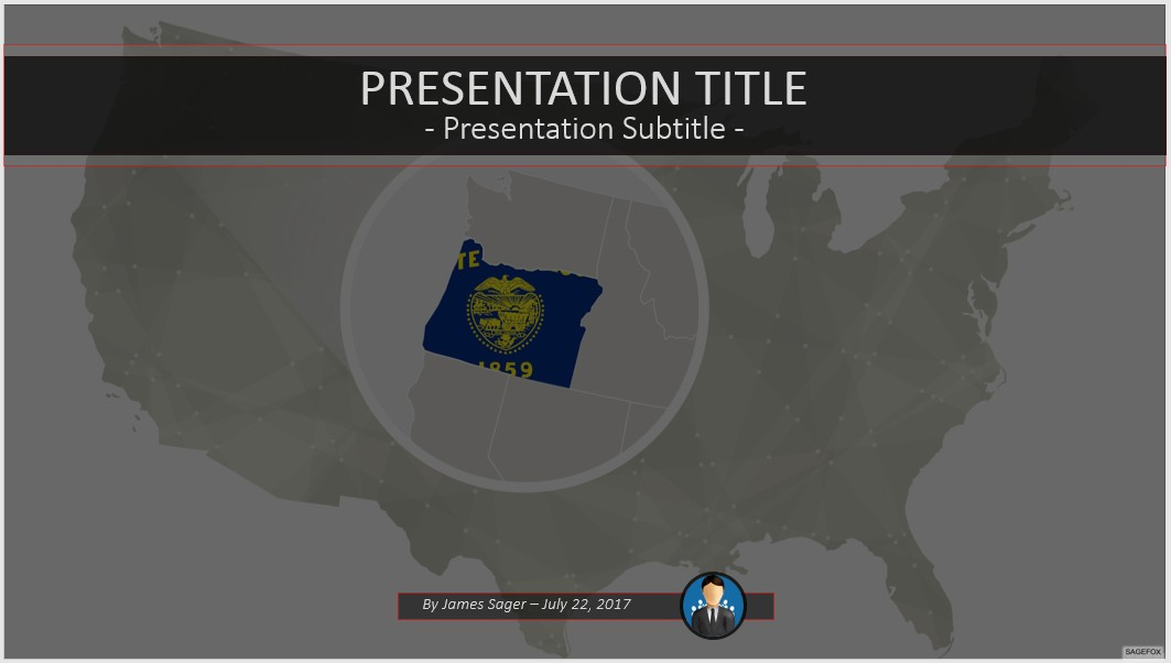 free oregon powerpoint #87321 | 13957 free powerpoint templates, Modern powerpoint