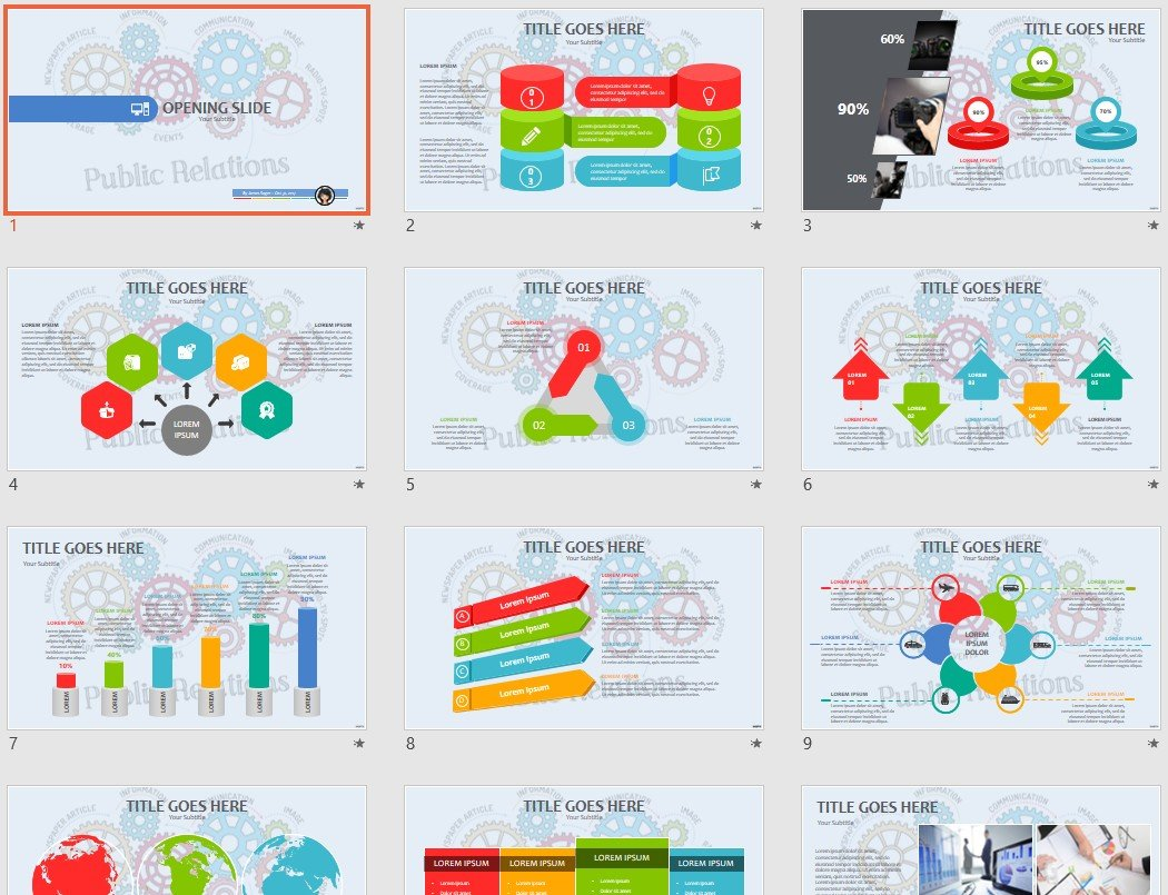 free public relations ppt 87916 sagefox free powerpoint templates