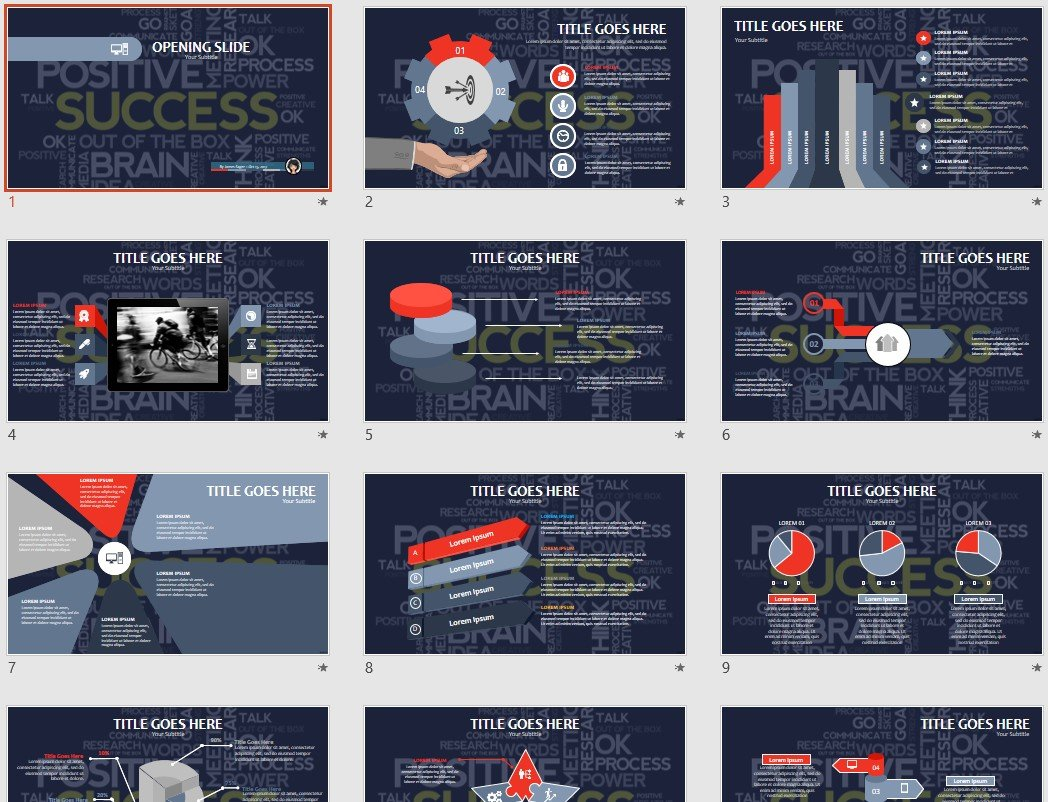 Free Success Powerpoint 88486 Sagefox Free Powerpoint Templates