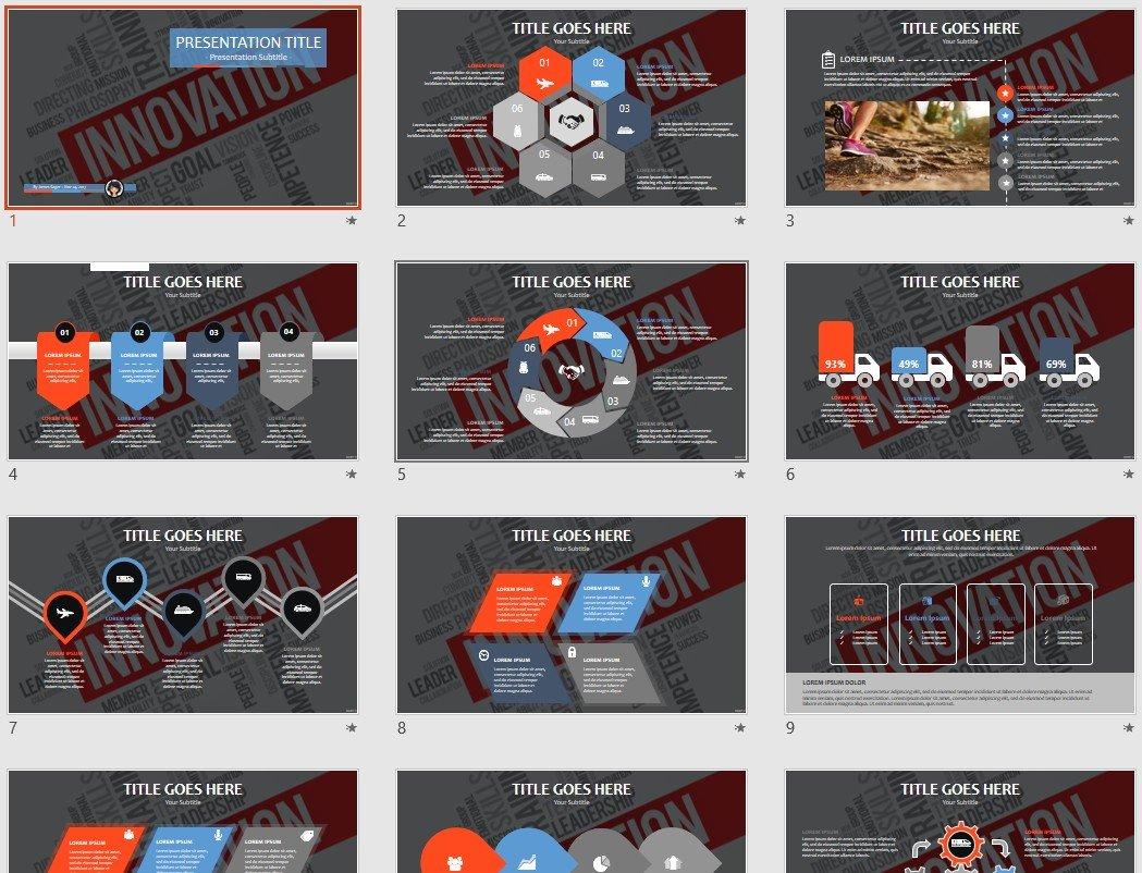 free innovation powerpoint 34635 sagefox free powerpoint templates