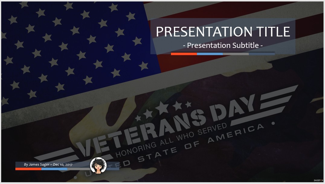 free veterans day ppt #89061 | 14131 free powerpoint templates, Powerpoint templates