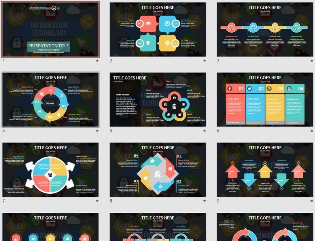 information technology PowerPoint by SageFox