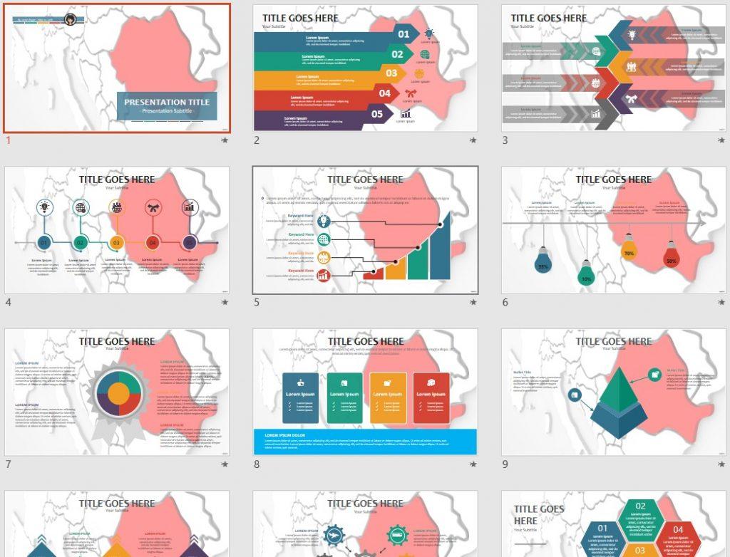 Romania PowerPoint by SageFox