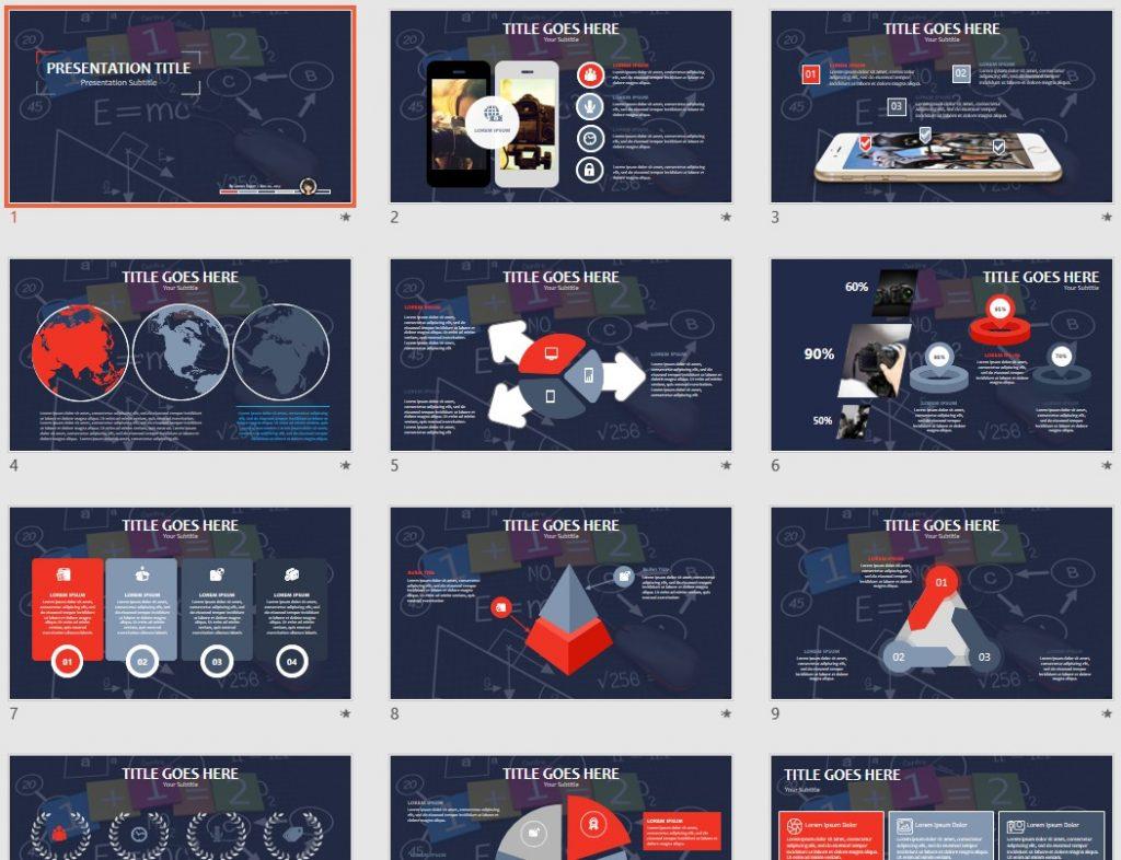Math Concept PPT by SageFox