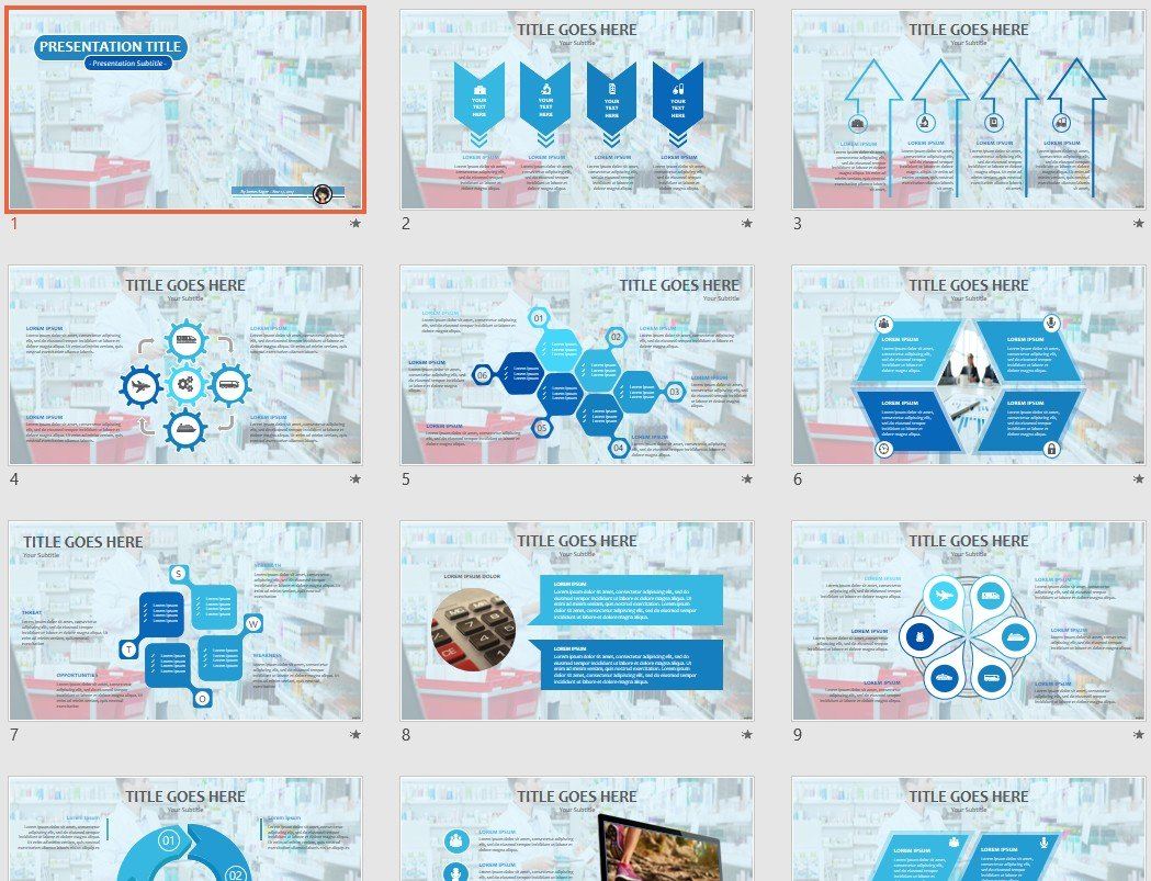 Free Pharmacy Powerpoint 89536 Sagefox Free Powerpoint Templates