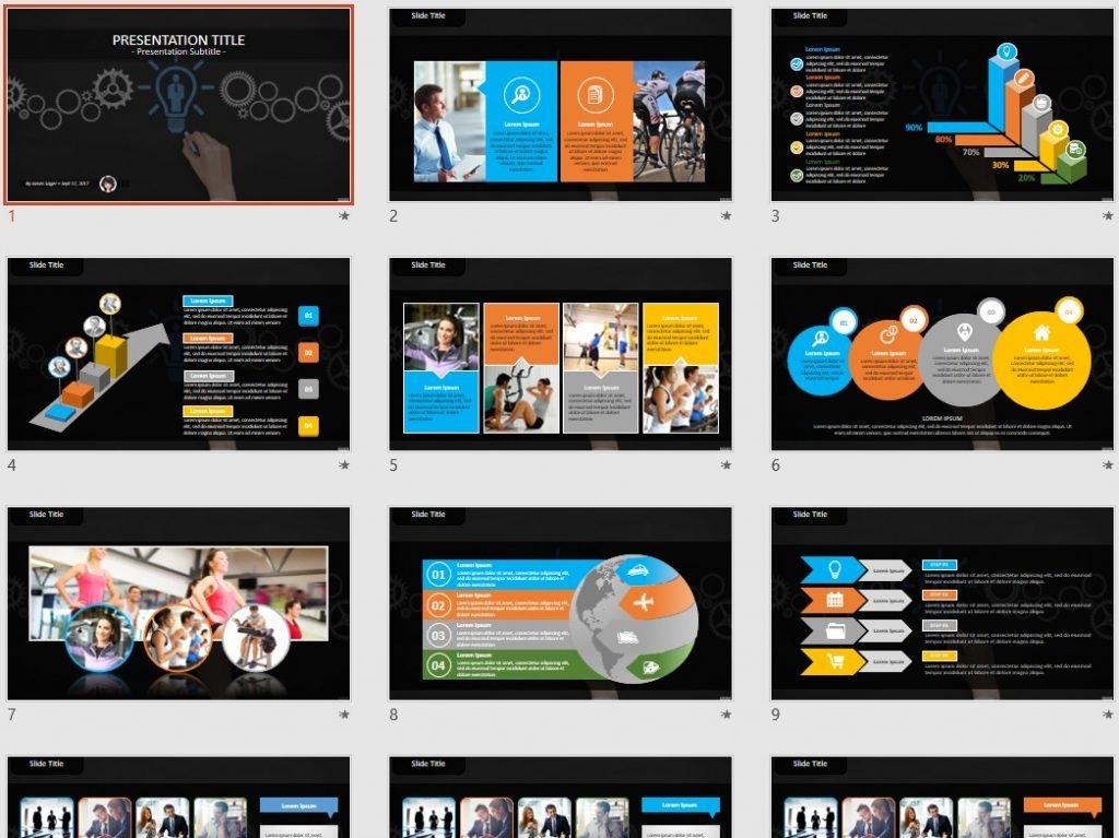 Idea PowerPoint by SageFox