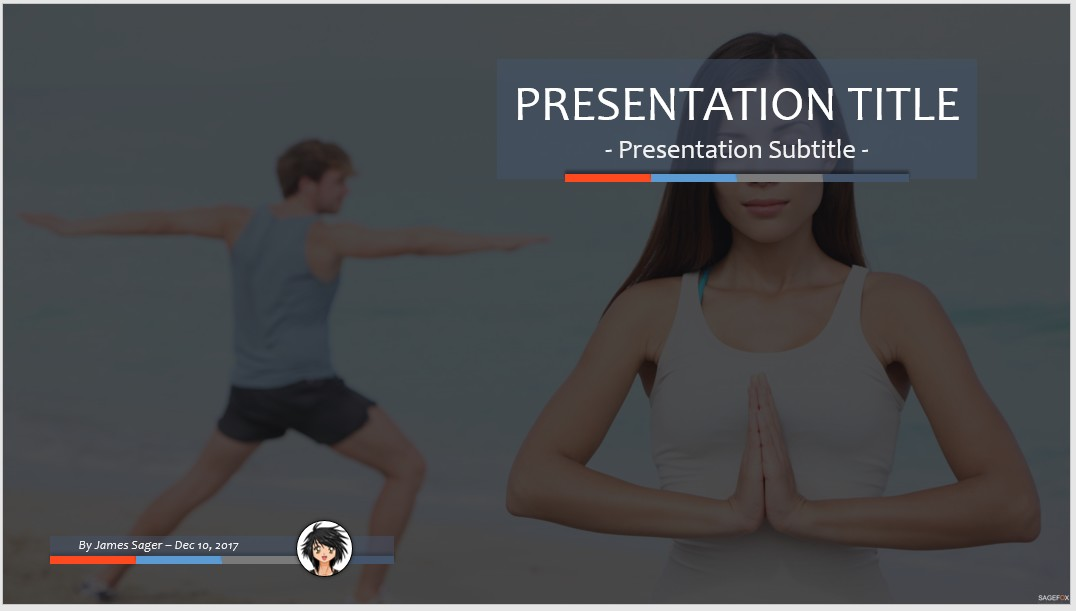 Free yoga meditation ppt 90456 sagefox powerpoint templates by james sager toneelgroepblik Image collections