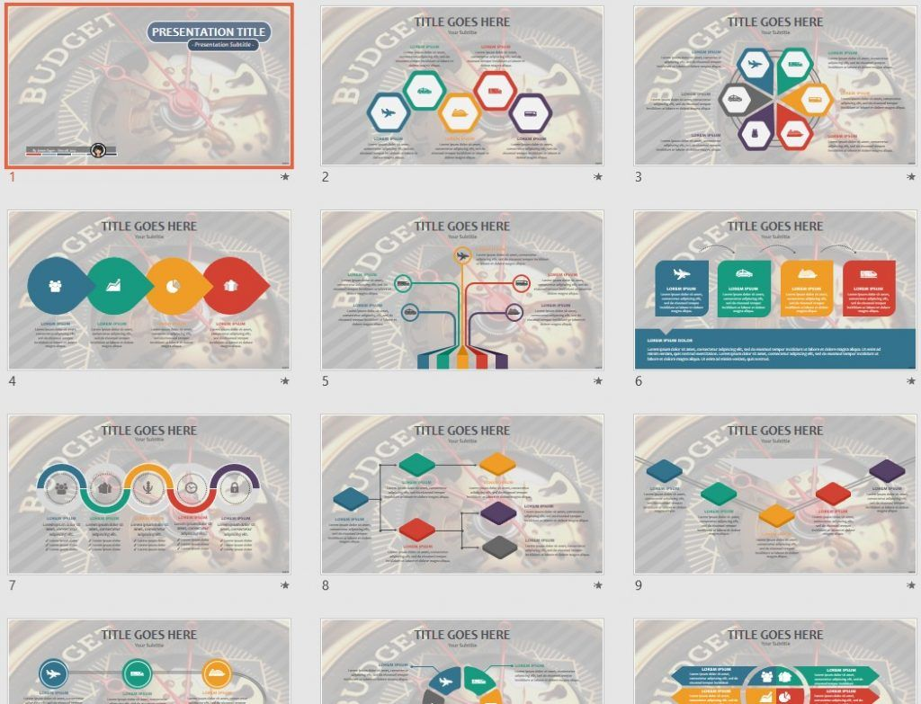 Free Budget Powerpoint 80629 Sagefox Free Powerpoint Templates