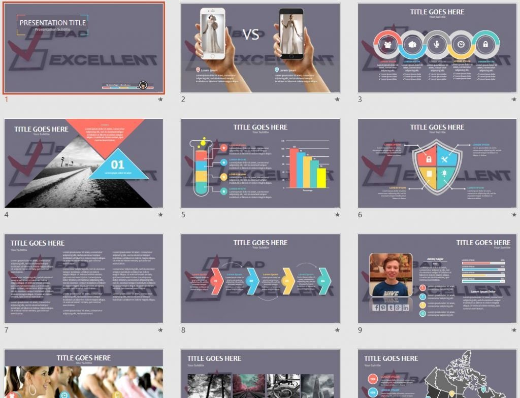 Free Excellent Powerpoint 57986 Sagefox Free Powerpoint Templates