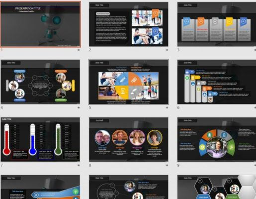 Robot powerpoint free robot powerpoint templates sagefox free free robot powerpoint toneelgroepblik Image collections