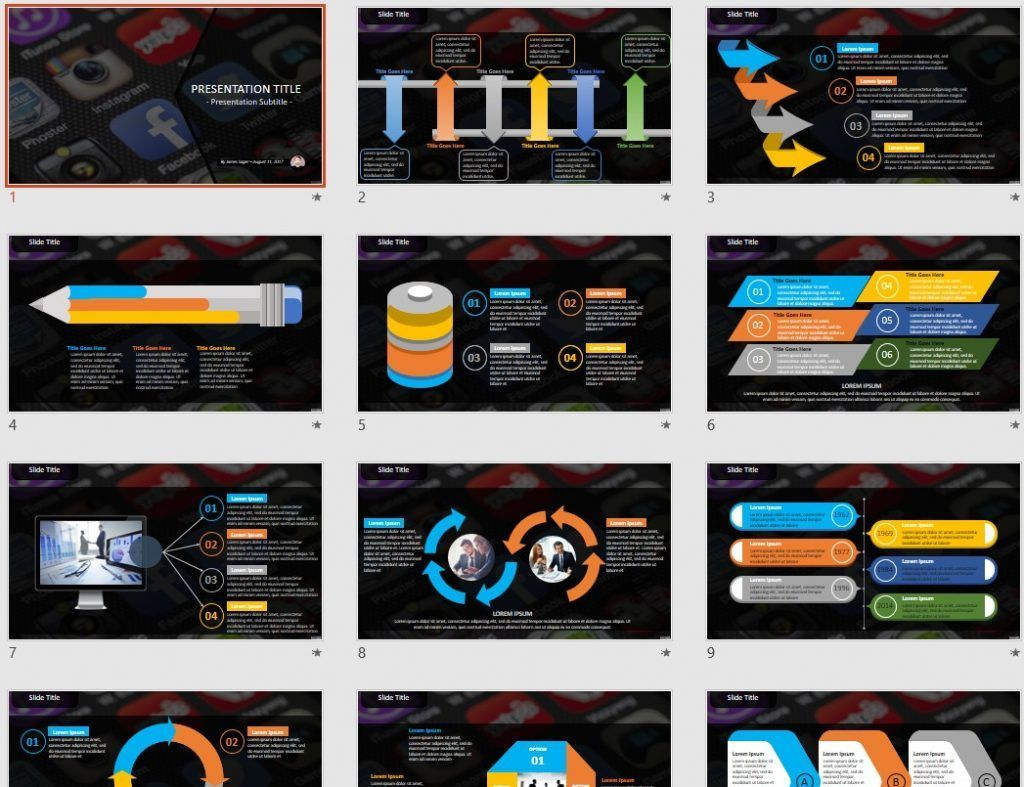 Free smartphone apps powerpoint 80024 sagefox free powerpoint by james sager toneelgroepblik Image collections
