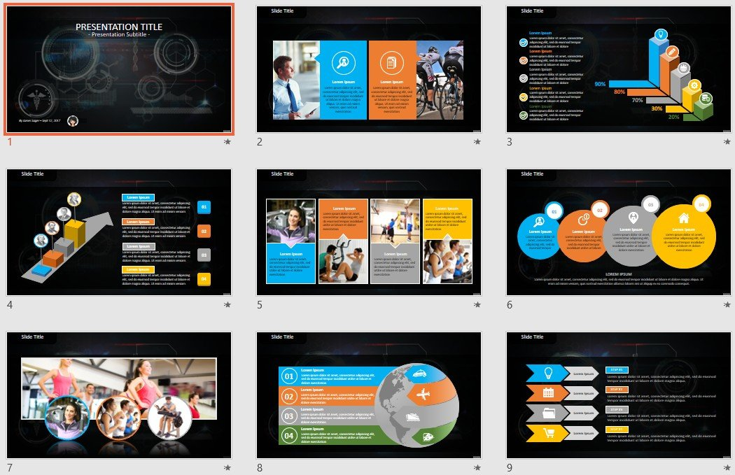 Free Medical Powerpoint 91999 Sagefox Free Powerpoint Templates
