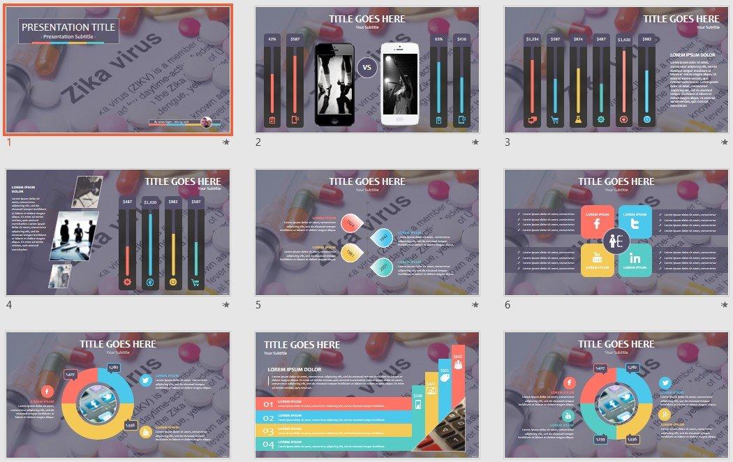 Free zika virus powerpoint 95158 sagefox free powerpoint templates by james sager toneelgroepblik Gallery