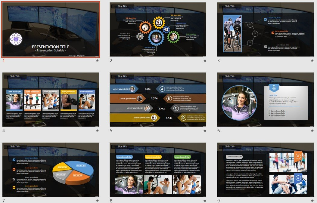 Free Gaming Powerpoint 92169 Sagefox Free Powerpoint Templates