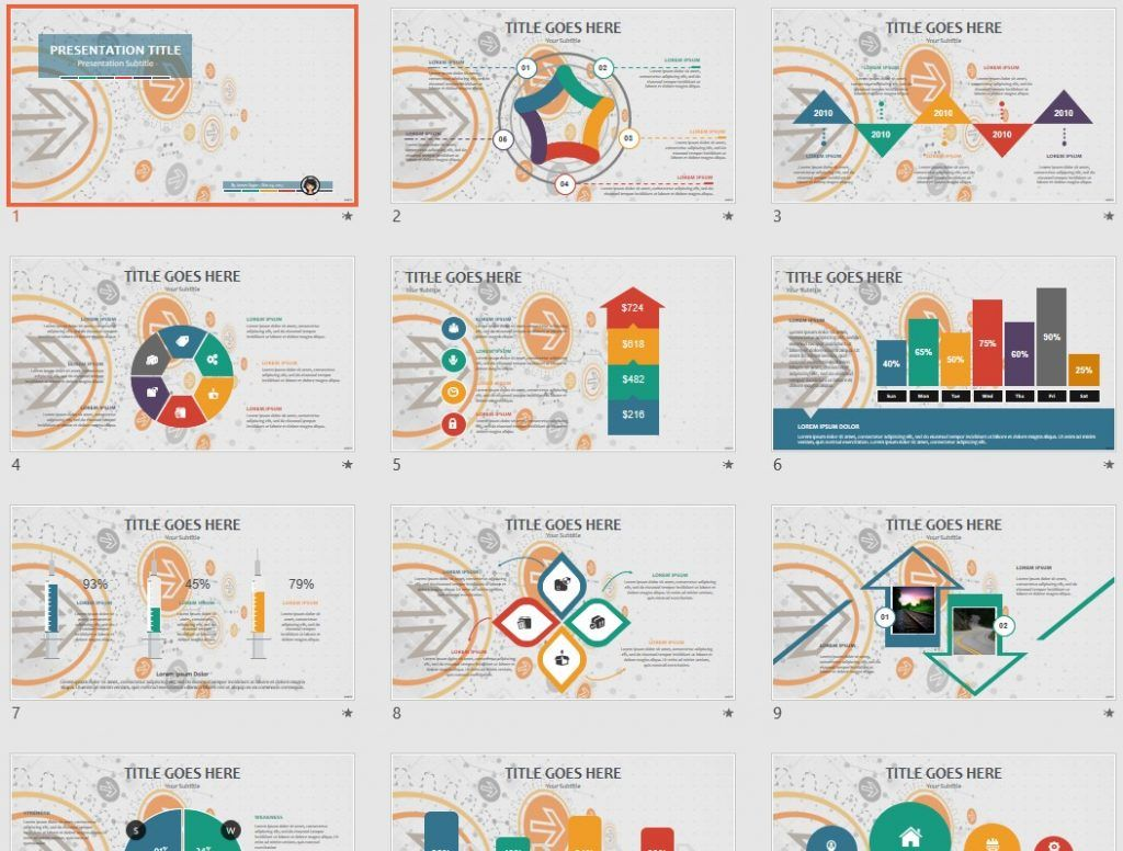 Free Abstract Ppt 72236 Sagefox Free Powerpoint Templates