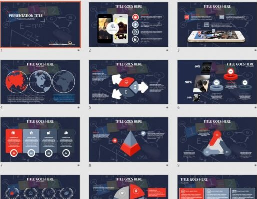 Math Powerpoint Free Math Powerpoint Templates Sagefox Free