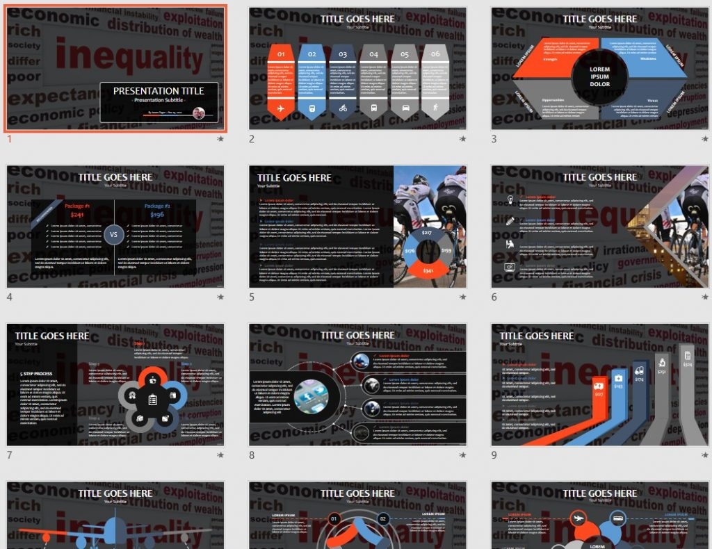 Inequality PowerPoint by SageFox