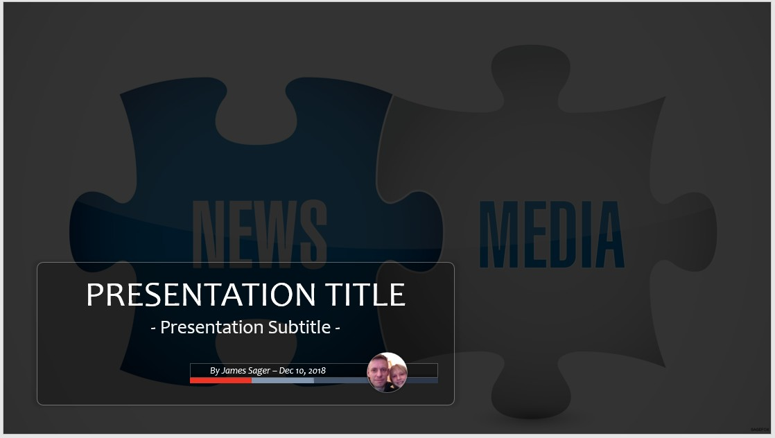 free news powerpoint #37007 | 13902 free powerpoint templates, Modern powerpoint