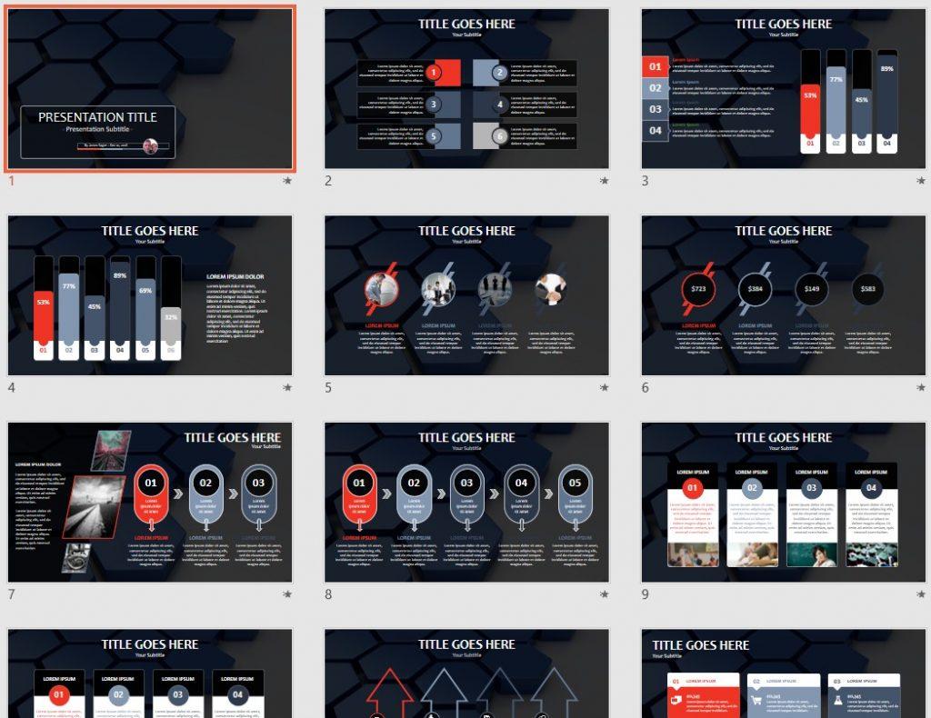 Geometrical PowerPoint by SageFox