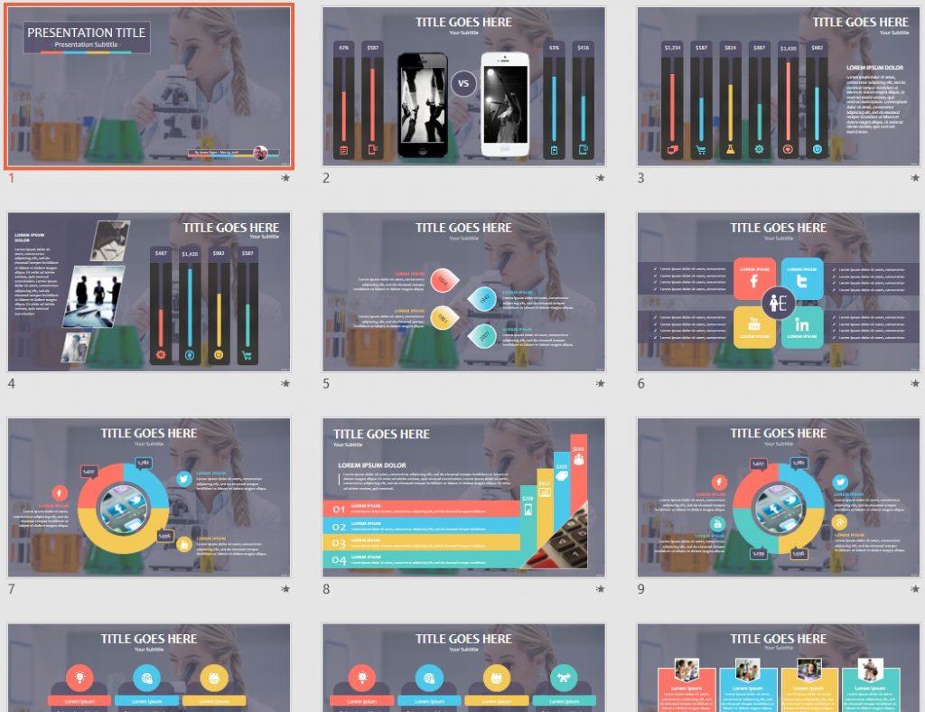 scientist PowerPoint by SageFox