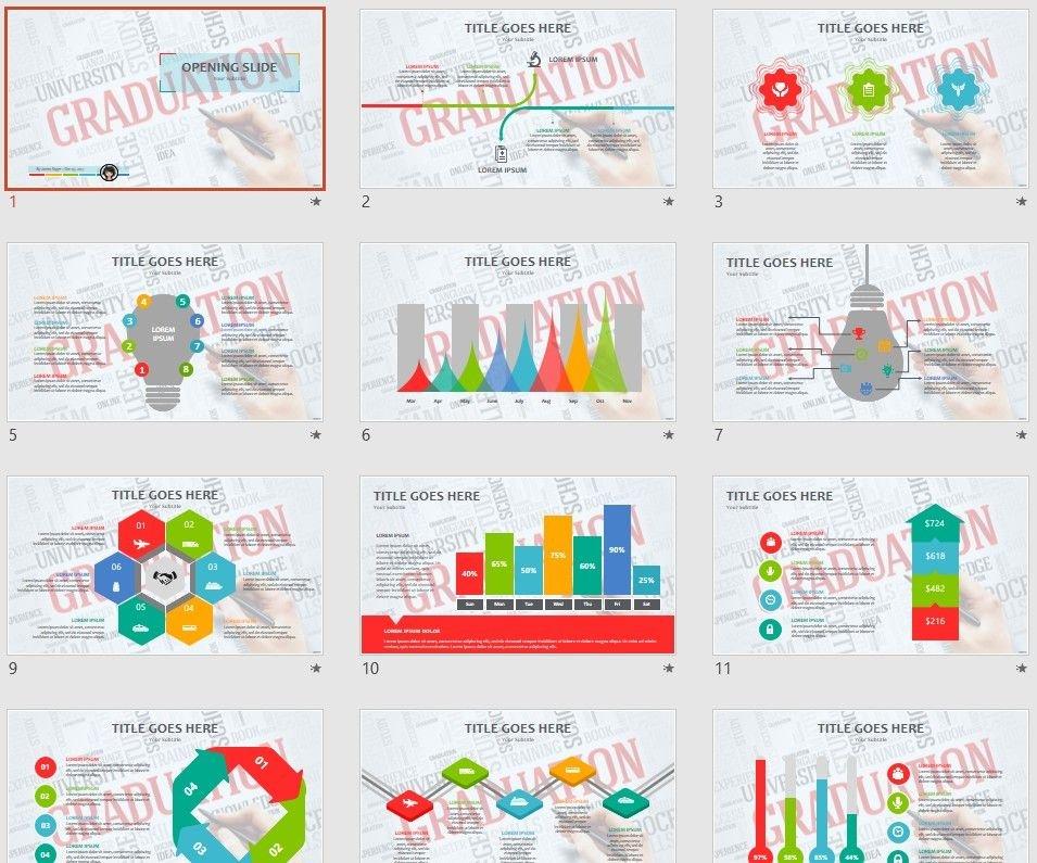 Free Graduation Ppt 98421 Sagefox Free Powerpoint Templates