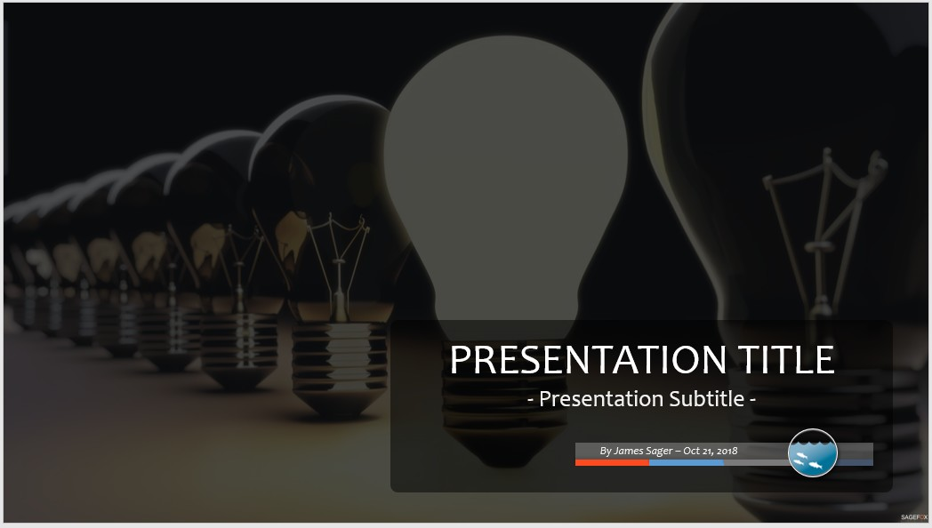 free light bulbs powerpoint #98868 | 13961 free powerpoint, Powerpoint templates