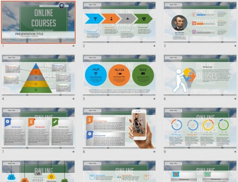 Free Online Courses Powerpoint 61077 Sagefox Free Powerpoint