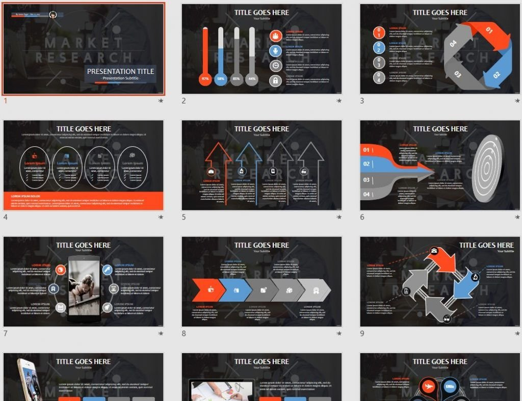Free Market Research Ppt 92678 Sagefox Free Powerpoint Templates