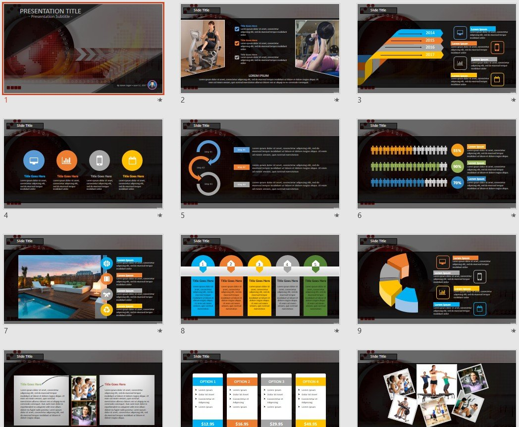Free abstract tech powerpoint 89815 sagefox powerpoint templates by james sager alramifo Choice Image