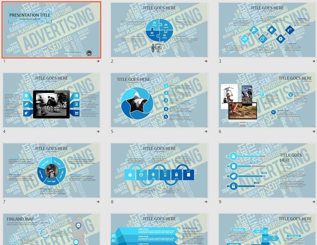 Free Advertising Powerpoint 104510 Sagefox Free Powerpoint Templates