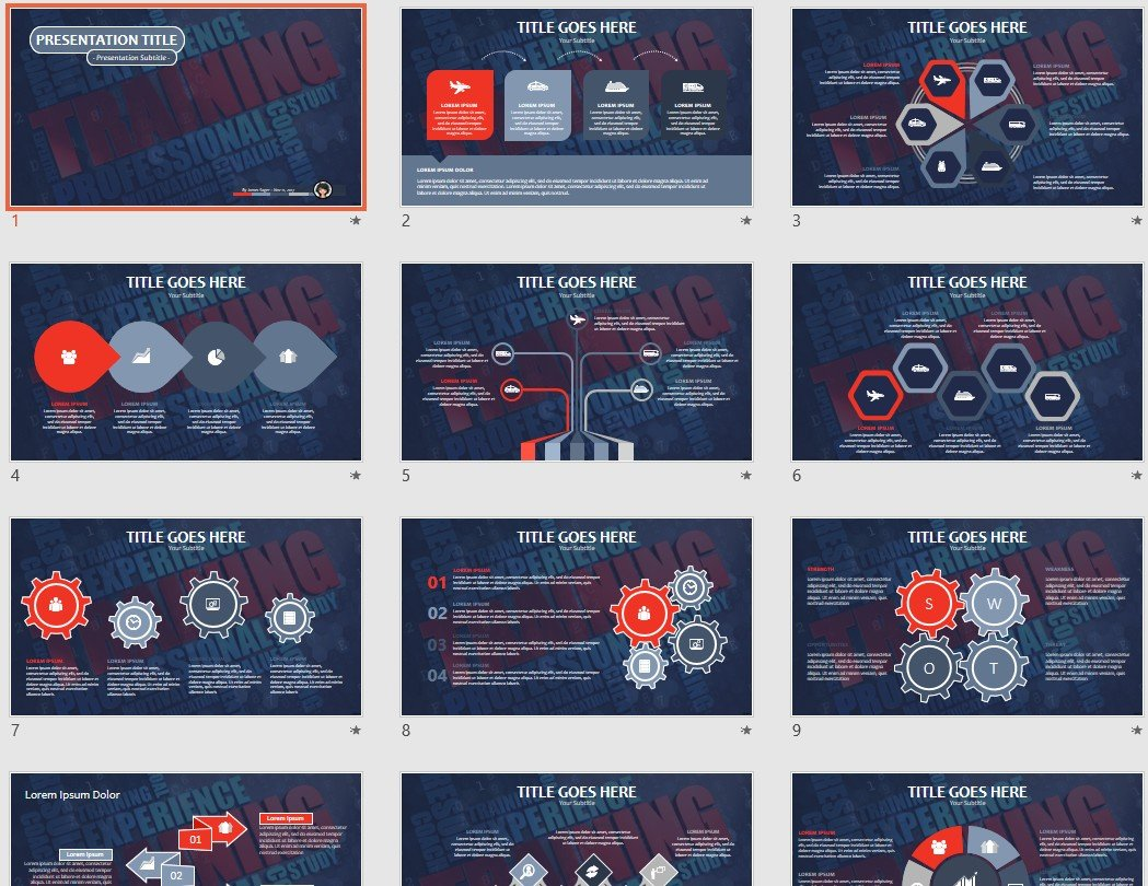 Free training ppt 104647 sagefox free powerpoint templates by james sager toneelgroepblik Image collections
