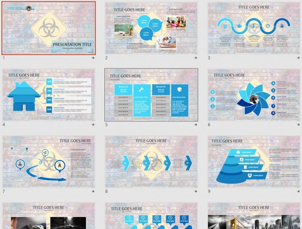 14170 free powerpoint templates | sagefox free powerpoint templates., Powerpoint templates
