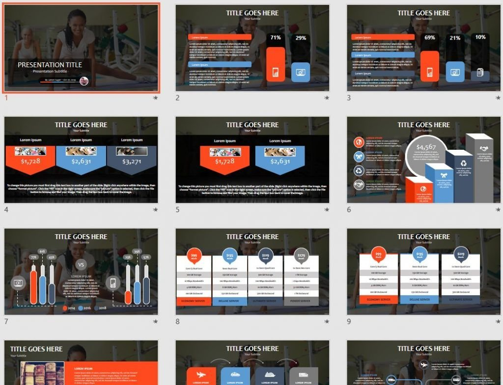 Free exercise powerpoint 91274 sagefox free powerpoint templates by james sager toneelgroepblik Images