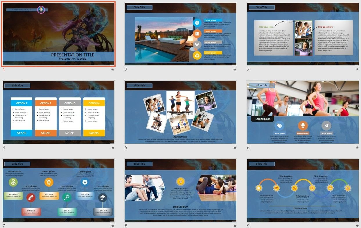 Free Powerpoint Game Templates