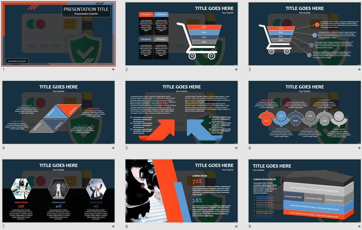 Free Credit Card Powerpoint 108959 Sagefox Free Powerpoint Templates
