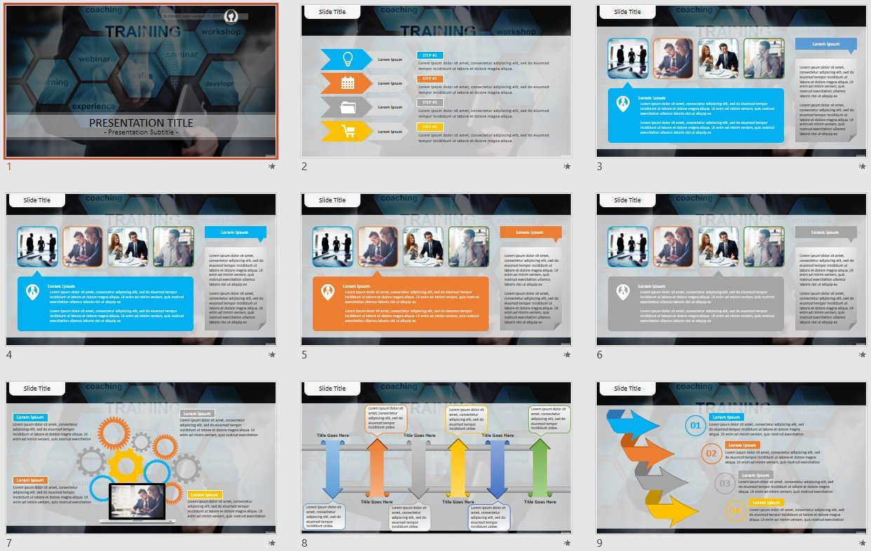 Free Training Powerpoint 104647 Sagefox Free Powerpoint Templates
